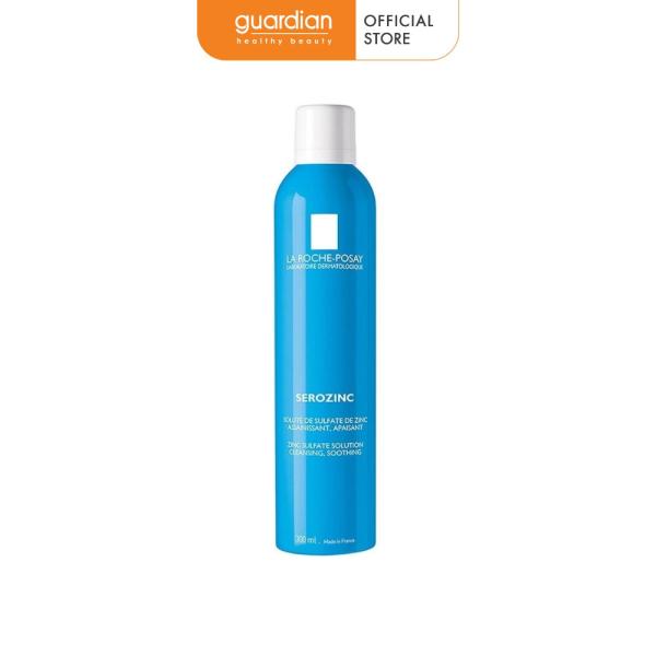 Nước xịt khoáng làm dịu da và giảm bóng nhờn cho da dầu mụn La Roche-Posay Serozinc 300ml