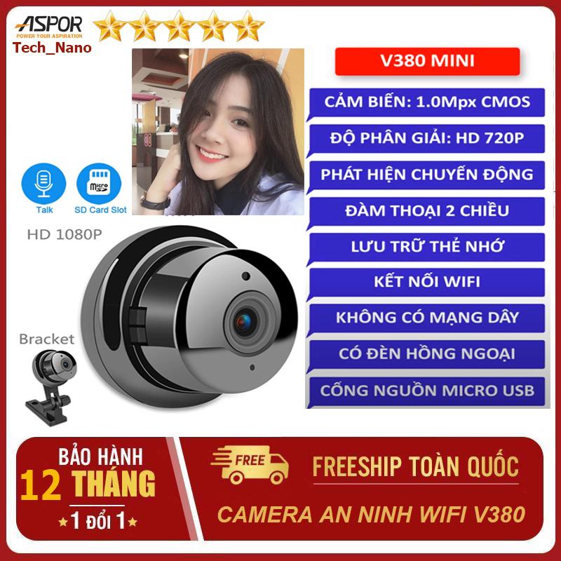 [Có Bán Kèm Thẻ Nhớ 64GB] Camera wifi ngoài trời, trong nhà V380 xem trên điện thoại/PC/Laptop có đèn hồng ngoài - camera wifi Yoosee ngoài trời - Carema gia đình - camera an ninh - camera wifi E08