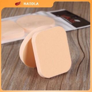 HATOLA - Bông mút trang điểm dùng tán phấn tán kem nền mềm mịn, Set 2 mút trang điểm trong vuông MTĐ-2 tiện lợi thumbnail