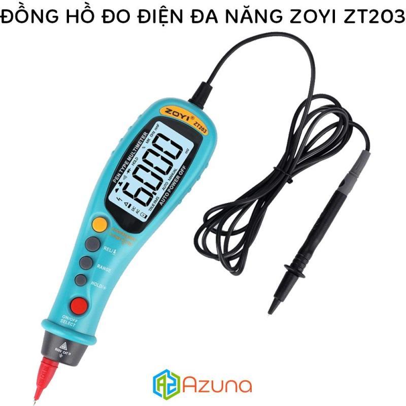 Đồng hồ đo điện tự động đa năng ZOYI ZT203 (True RMS / DC/AC Voltage & NVC Test / 6000 Count)