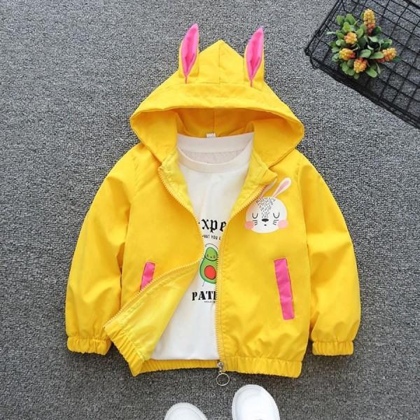Giá bán ❤️ áo tết cho bé ❤️ Áo khoác cho bé gái 1-7 tuổi hình THỎ Hàn Quốc đáng yêu - Full size cho bé từ 7-32 kg