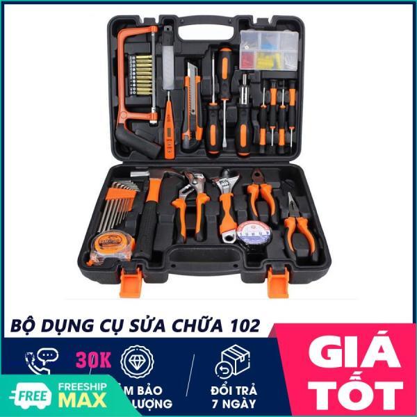 Bộ dụng cụ sửa chữa, Dụng cụ sửa chữa nhà cửa 102 chi tiết, dụng cụ sửa chữa đa năng - 1 ĐỔI 1 TRONG 7 NGÀY