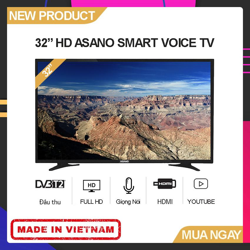 Bảng giá Smart Voice TV Asano 32 inch Full HD - Model 32EK3 (Android 7.1, Tích hợp giọng nói, Youtube, Tích hợp DVB-T2) - Bảo Hành 2 Năm