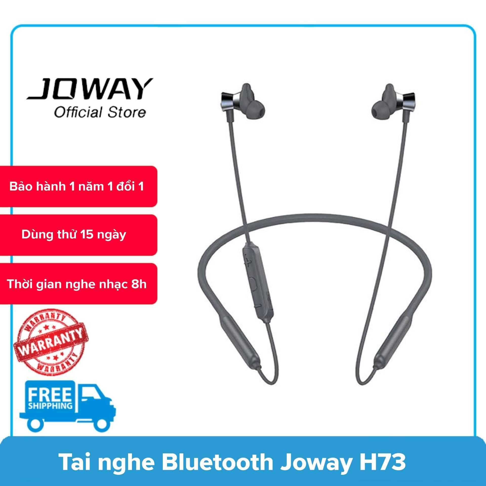 Tai nghe bluetooth Super Bass Joway H73, chống ồn, âm thanh stereo, nghe nhạc liên tục 8h - Hãng phân phối chính thức