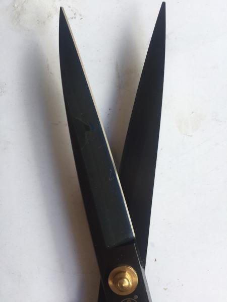 Kéo cắt vải chuyên nghiệp cắt nhẹ và ngọt có size từ 9 10 11 12 inch hộp xanh dương lưỡi đen