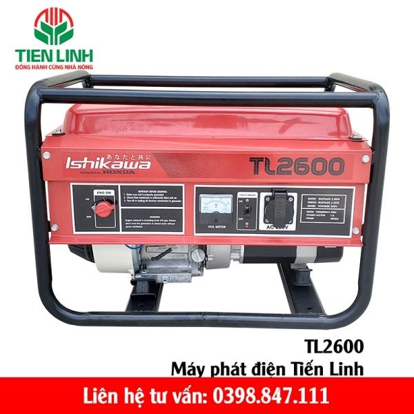 Máy phát điện Honda Tiến Linh TL2600
