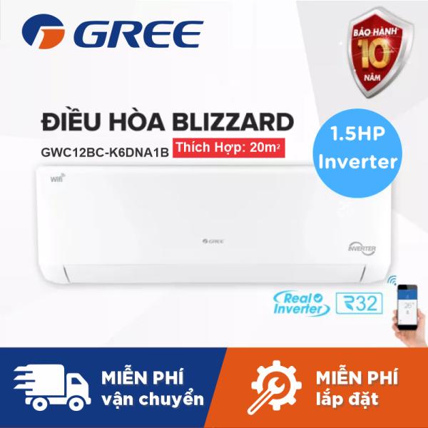 Bảng giá Máy Lạnh GREE BLIZZARD 1.5HP Inverter Wifi - Phù Hợp Phòng 15m2 Đến 20m2