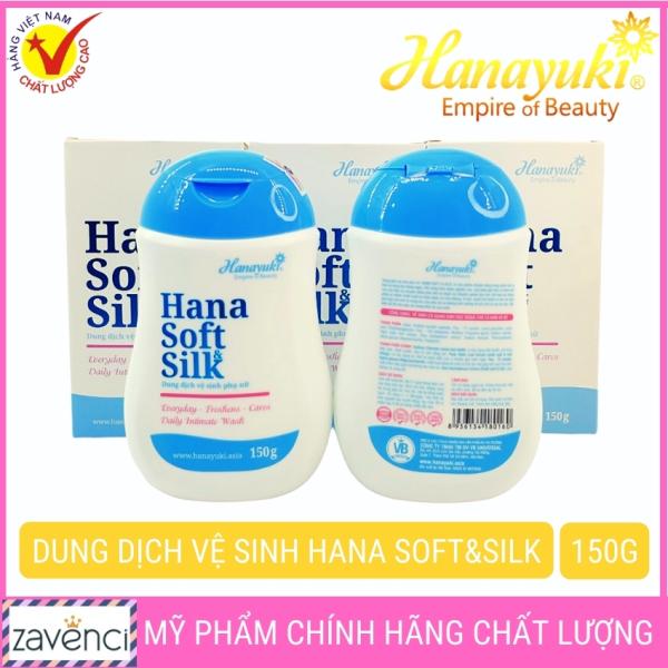 Dung dịch vệ sinh phụ nữ HANAYUKI chính hãng trẻ hóa làm sạch vùng kín giá rẻ