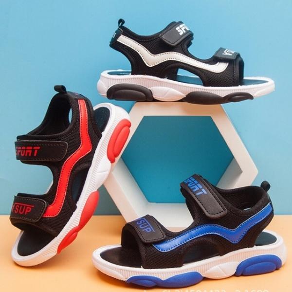 Dép Quai Hậu Phong Cách Thể Thao Đế Gấu Cho Bé Trai - Shop Miho Shoes
