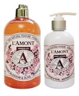 Combo 2 (1 Sữa tắm Cherry Blossom 500ml và 1 Sữa dưỡng thể Cherry Blossom 250 ml) thumbnail
