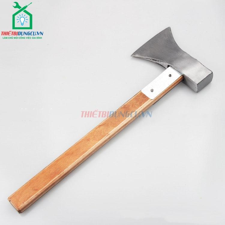 Búa rìu cán gỗ 40cm