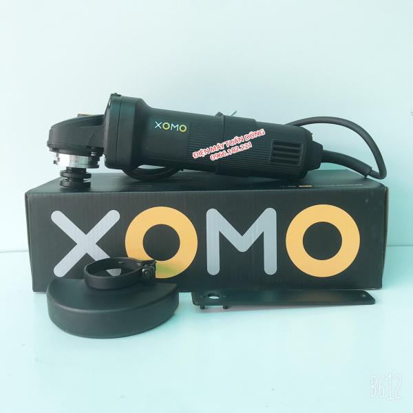 [HÀNG NỘI ĐỊA] Máy mài XOMO, 100% dây đồng, 750W, công tắc đuôi, có chế độ hãm tốc