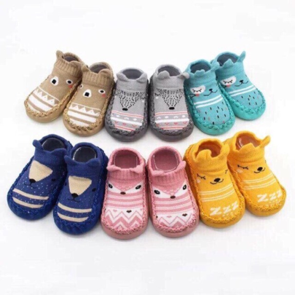 Giày tất tập đi chống trượt cho bé( 9 tháng - 20tháng) giá rẻ