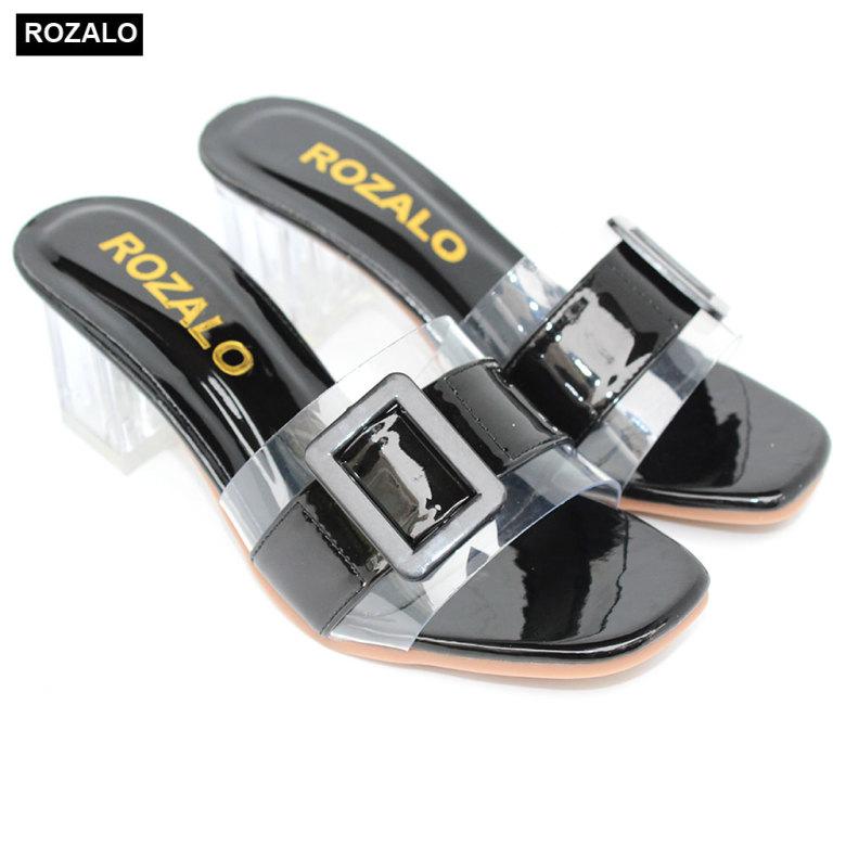 Dép guốc cao gót trong 5P Rozalo R5700 giá rẻ