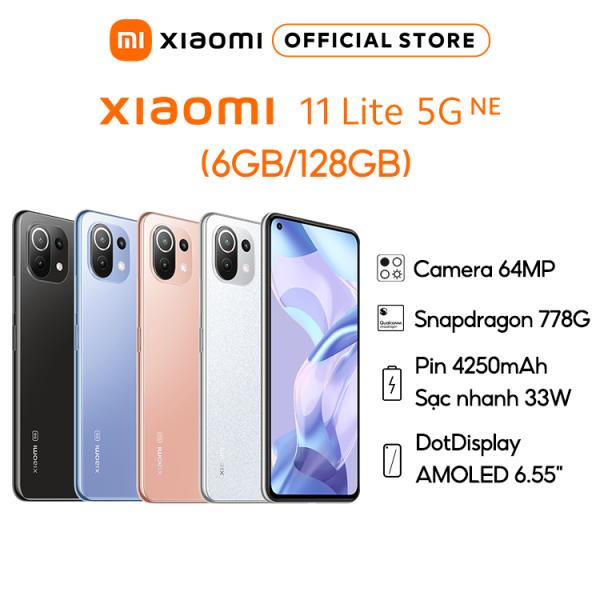 Điện Thoại Xiaomi Mi 11 Lite 5G NE 6GB l 128GB - Hàng Chính Hãng - Bảo hành 18 Tháng