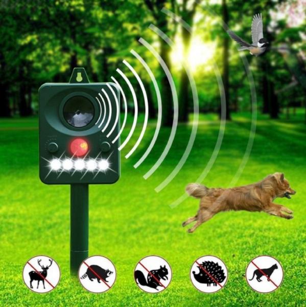 [ROBOT ĐUỔI CHUỘT] Máy Đuổi Chuột,Rắn mèo, chó, chim,... thiết bị đuổi chuột AMB A2 công nghệ cảm biến hồng ngoại.