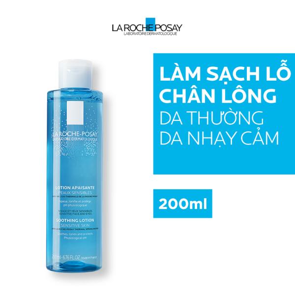 [HCM]Nước cân bằng giàu khoáng dành cho da nhaỵ cảm La Roche Posay 200ml cao cấp