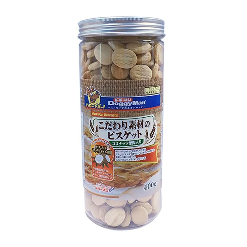DOGGYMAN Bánh quy dừa hộp 400g cho chó cưng