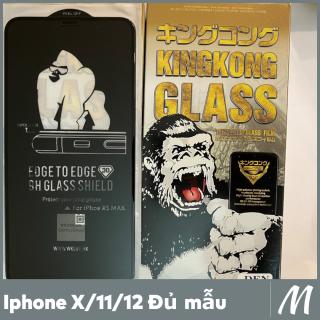 Combo 2 Kính cường lực WEKOME trần cao cấp full màn Ip X, XS, XR, Xs Max, 11, 11 Pro 11Pro MAX, 12, 12 Pro, 12 ProMax (Miếng Dán màn hình Cường Lực Iphone) thumbnail