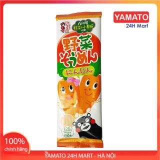 Mì Somen Itsuki Nhật Bản Vị Cà Rốt 120g, Miến Soba, Mì Nhật, Miến Nhật Bản thumbnail