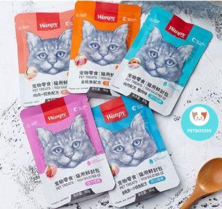 Pate Wanpy Cho Mèo Gói 80g (Nhiều vị) - Thơm Ngon Bổ Dưỡng thumbnail