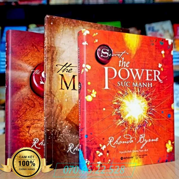Combo Bộ Sách Kinh Tế: The Magic Phép Màu + The Secret Bí Mật + The Power Sức Mạnh (Bìa Cứng Xịn - In Màu)