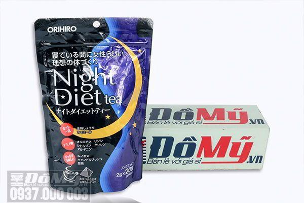 Trà giảm cân Orihiro Night Diet Tea của Nhật Bản