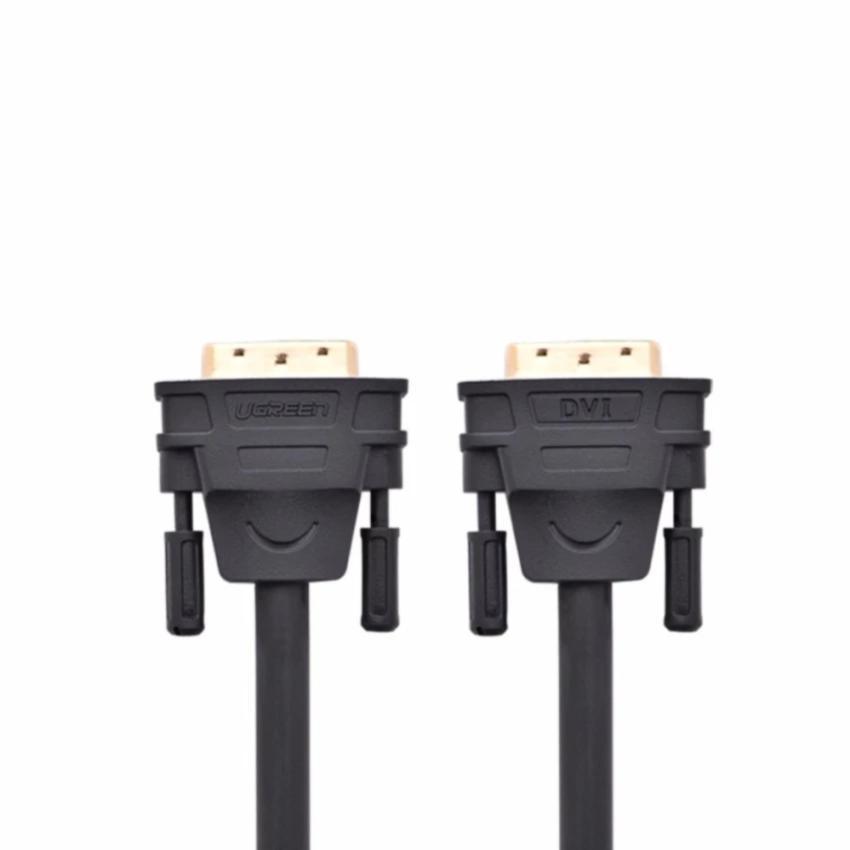 Cáp tín hiệu DVI (24+1) 2 đầu đực dài 3m UGREEN DV101 11607