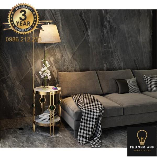 Bảng giá Đèn cây phòng khách Bắc Âu cao cấp trang trí phòng khách, phòng ngủ ngồi đọc sách, uống trà mã 1006- Đèn Phương Anh