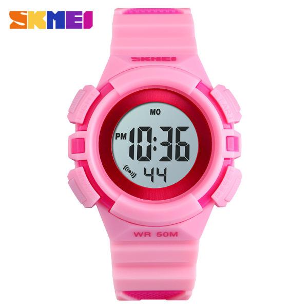 Đồng hồ điện tử trẻ em - đồng hồ thời trang bé trai dây cao su Skmei 1485 bán chạy