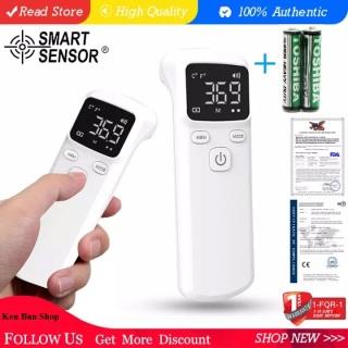 Nhiệt Kế Hồng Ngoại Thông Minh Thermometer Chất Lượng Cao Nhiệt Kế LCD Hiển Thị Độ Chính Xác Tặng Kèm 2 Pin AAA thumbnail