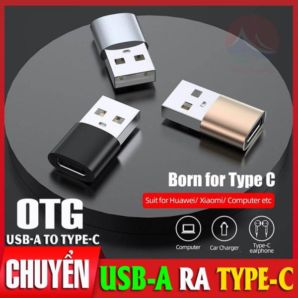 OTG Chuyển Đổi USB Sang Type-C, Sạc Và Truyền Dữ Liệu Data Nhanh 3.0, Vỏ Nhôm Kim Loại Chắc Chắn, Nhỏ Gọn Cắm Là Chạy, bộ chuyển đổi type c ra USB, đầu chuyển Type C sang USB Samsung Xiaomi Macbook iPad, cáp OTG TypeC CuuLongstore