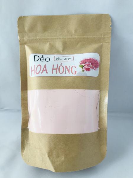 100g Bột Dẻo Hoa Hồng Thơm - Chăm Sóc Da Mọi Lứa Tuổi - Ngăn Ngừa Lão Hóa