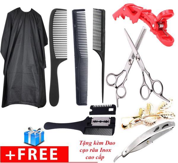 Bộ combo kéo cắt tóc PK1  giá rẽ dành cho mọi người cao cấp