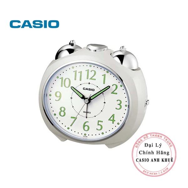 Đồng hồ để bàn Casio TQ-369-7DF có đèn chuông báo thức, dạ quang (  Kích thước 11.6×13×9 cm ) bán chạy