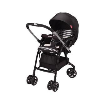 Xe đẩy trẻ em Aprica Luxuna Dual CTS Coordy Black thumbnail