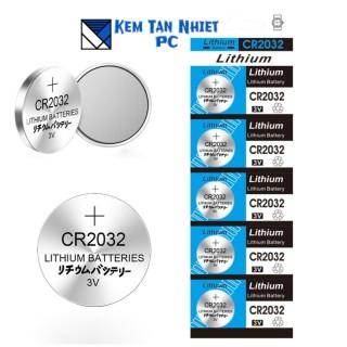 Vỉ 5 VIÊN PIN CMOS 3V Lithinum CR2032 thumbnail