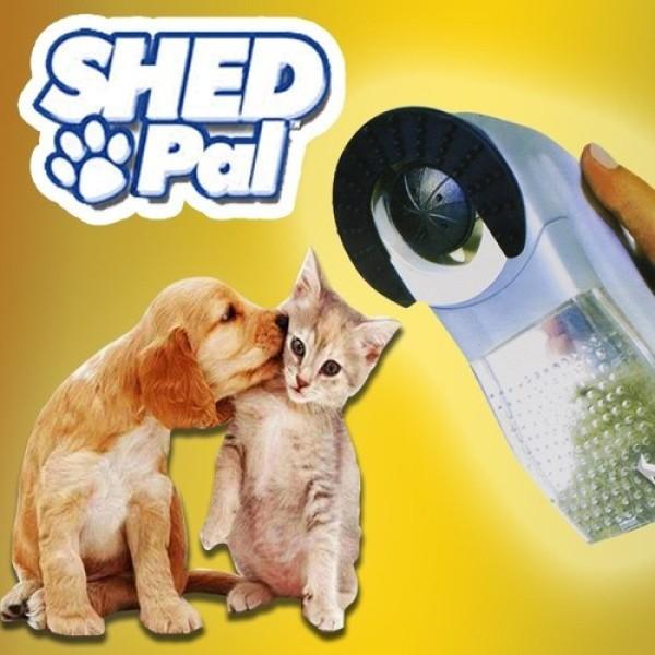 Máy hút tự động lấy lông rụng cho chó mèo Shed Pal tiện dụng