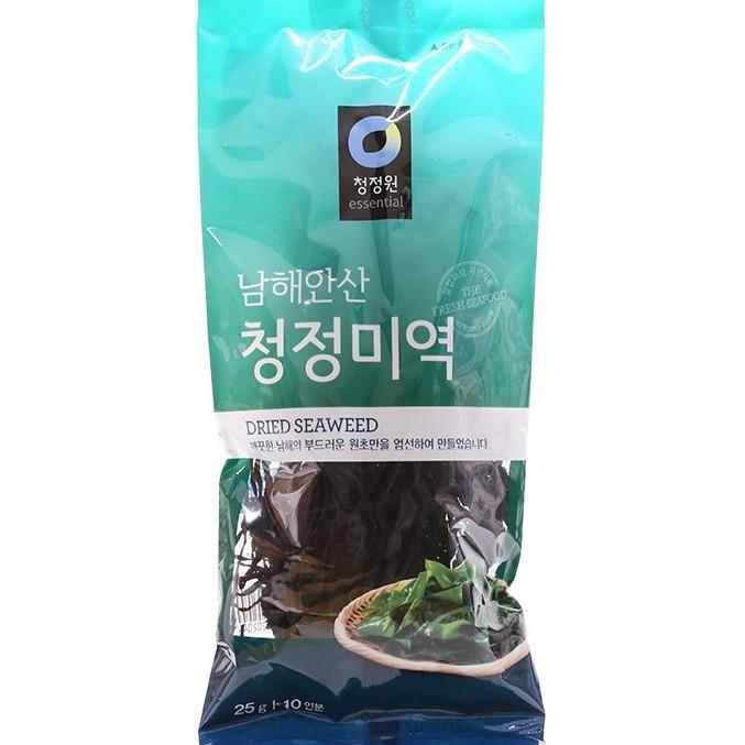 Rong biển nấu canh Hàn Quốc Daesang 25G sản phẩm tốt chất lượng cao đảm bảo an toàn cho sức khỏe người sử dụng cam kết như hình
