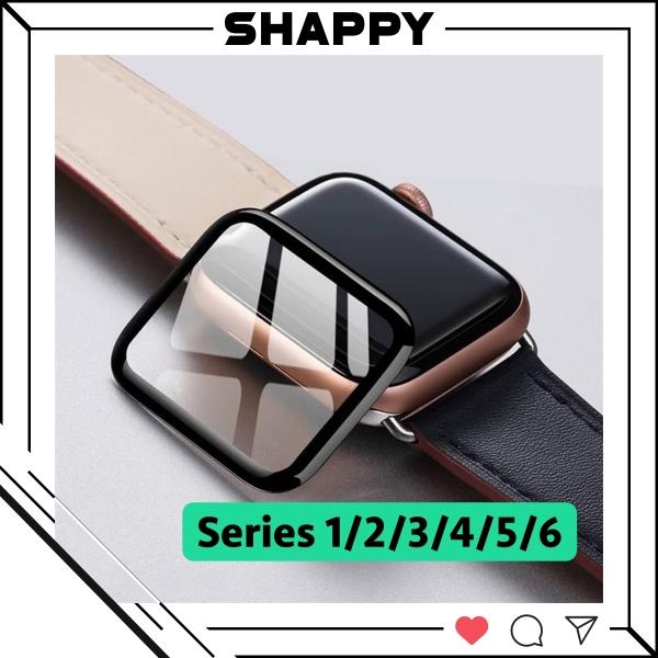 Cường Lực Apple Watch Nano Dẻo Bóng Full Màn Series 1/2/3/4/5/6 Full Size 38/40/42/44MM [Shappy Shop]