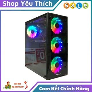 Vỏ Case Máy Tính Gaming Start - GA - 3 Fan Hỗ Trợ Tản Nhiệt CPU 160mm 2 Mặt Kính Cường Lực thumbnail