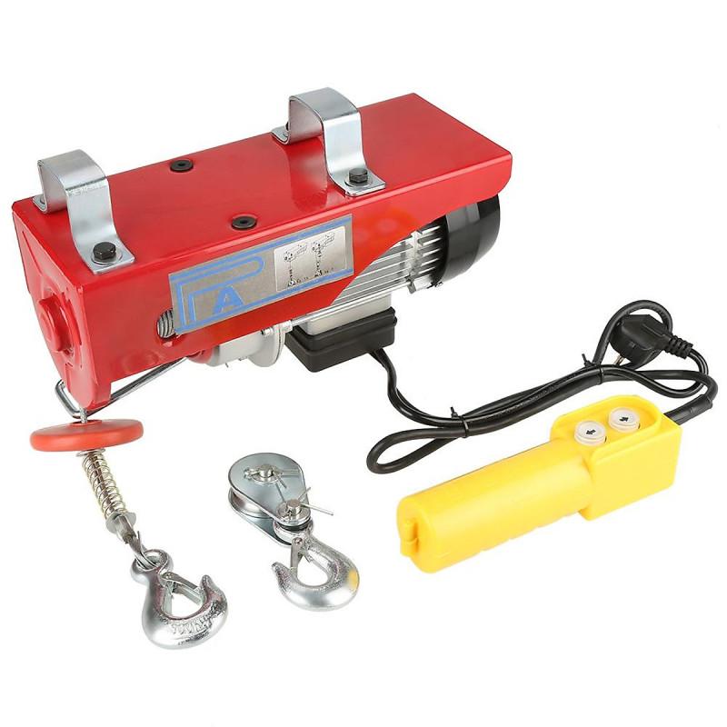 Tời điện treo PA300 (150/300kg) màu đỏ cáp 12m, cam kết hàng đúng mô tả, chất lượng đảm bảo, an toàn cho người sử dụng