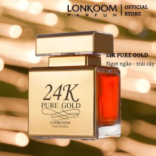 LONKOOM nước hoa cho phụ nữ 24K PURE GOLD 100ml EDP thumbnail