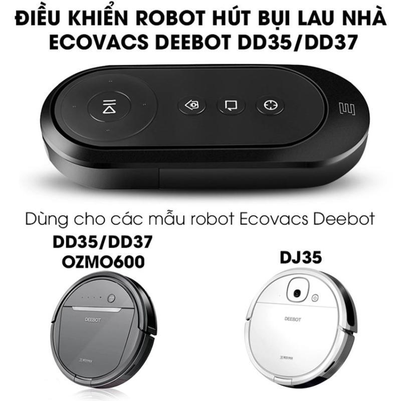 Điều khiển robot hút bụi lau nhà Ecovacs Deebot DD35 dùng cho các mẫu robot Ecovacs DD35, DD37, OZMO600, DJ35