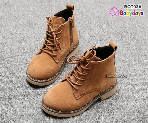 Giày boots cho bé BOT03A giá rẻ