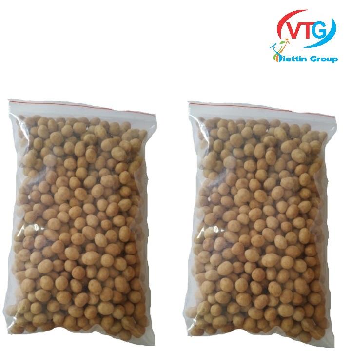 Combo 1.5kg đậu phộng da cá vị nước cốt dừa - kimlong là món ăn vặt rất lành mạnh không gây hại cho sức khỏe