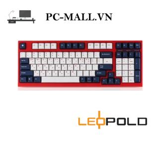 Bàn phím cơ Leopold FC980M PD WHITE BLUE STAR - HÀNG CHÍNH HÃNG - PCMALL.VN thumbnail