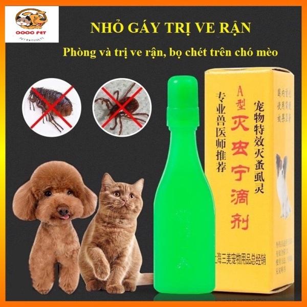 Lọ Nhỏ Gáy Diệt Ve Rận Bọ Chét Cho Chó Mèo