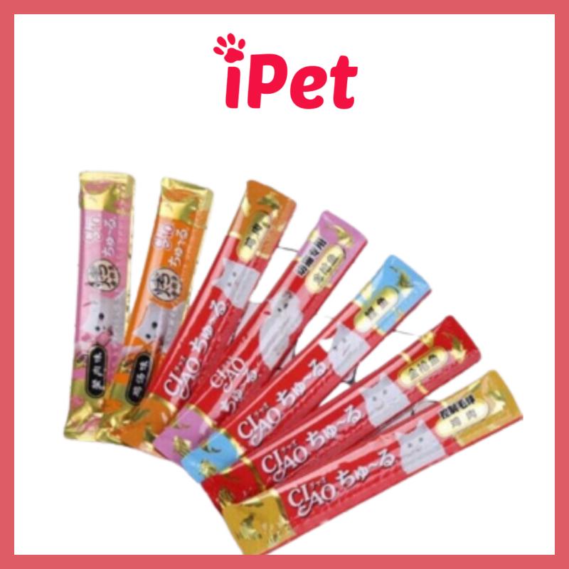 1 Thanh Thức Ăn Cho Mèo Dạng Súp Thưởng Ciao Wang 15g - iPet Shop