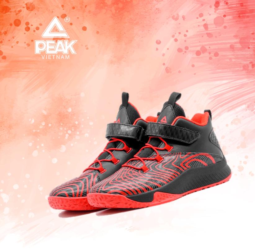Giày bóng rổ PEAK Basketball Outdoor KID EK9411A giá rẻ